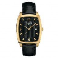 Tissot Sculpture Line Quartz 18K Gold