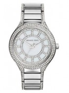 Michael Kors Kerry Pav© Silver-Tone Watch