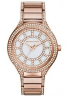 Michael Kors Kerry Pav© Rose Gold-Tone Watch