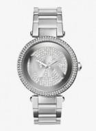 Michael Kors Parker Pav© Silver-Tone Watch