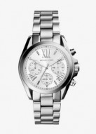 Michael Kors Mini Bradshaw Silver-Tone Watch