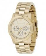 Michael Kors Runway Gold Tone Watch MK5055