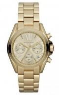 Michael Kors Golden Stainless Steel Chronograph Watch MK5798