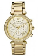 Michael Kors Golden Stainless Steel Watch By Michael Kors MK5354