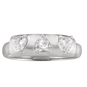 Mothers Ring Style 159 Birthstone Ring with 3 Stones